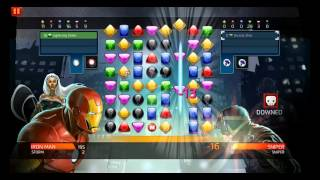 Marvel Puzzle Quest: Dark Reign - PC Gameplay