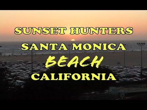 Amazing...Sunset Best View of Santa Monica Beach Los Angeles | Recommended Beach in California