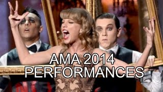 For more ama 2014 american music awards performances, please visit http://www.joseph-morris.com/ama-2014-performancestaylor swift was by far the best perform...
