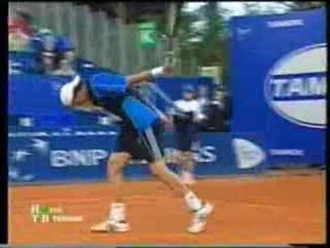Safin's rackets