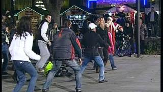 "BNT 2 Flashmob - Zumba club ""Dinamika"" in Ruse, Bulgaria"