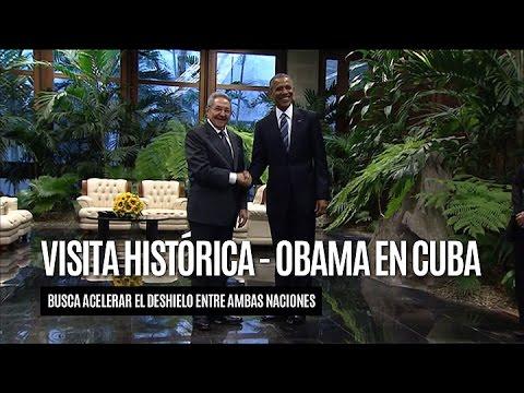 Obama se reunió por primera vez con Raúl Castro en Cuba