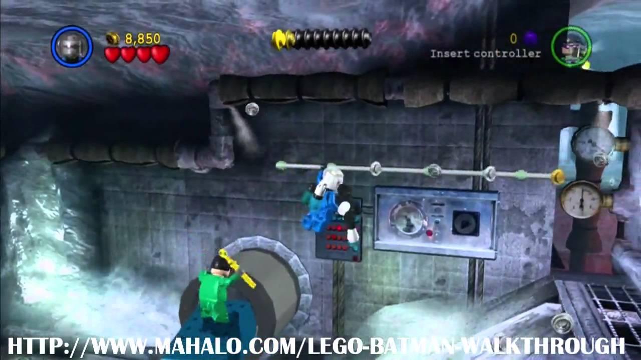 LEGO Batman Walkthrough - Mission 17: On the Rocks 1/2 ...