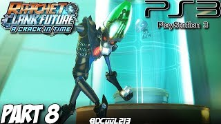 Ratchet & Clank Future A Crack in Time Gameplay Walkthrough Part 8 - Tombli Outpost - PS3 Lets Play