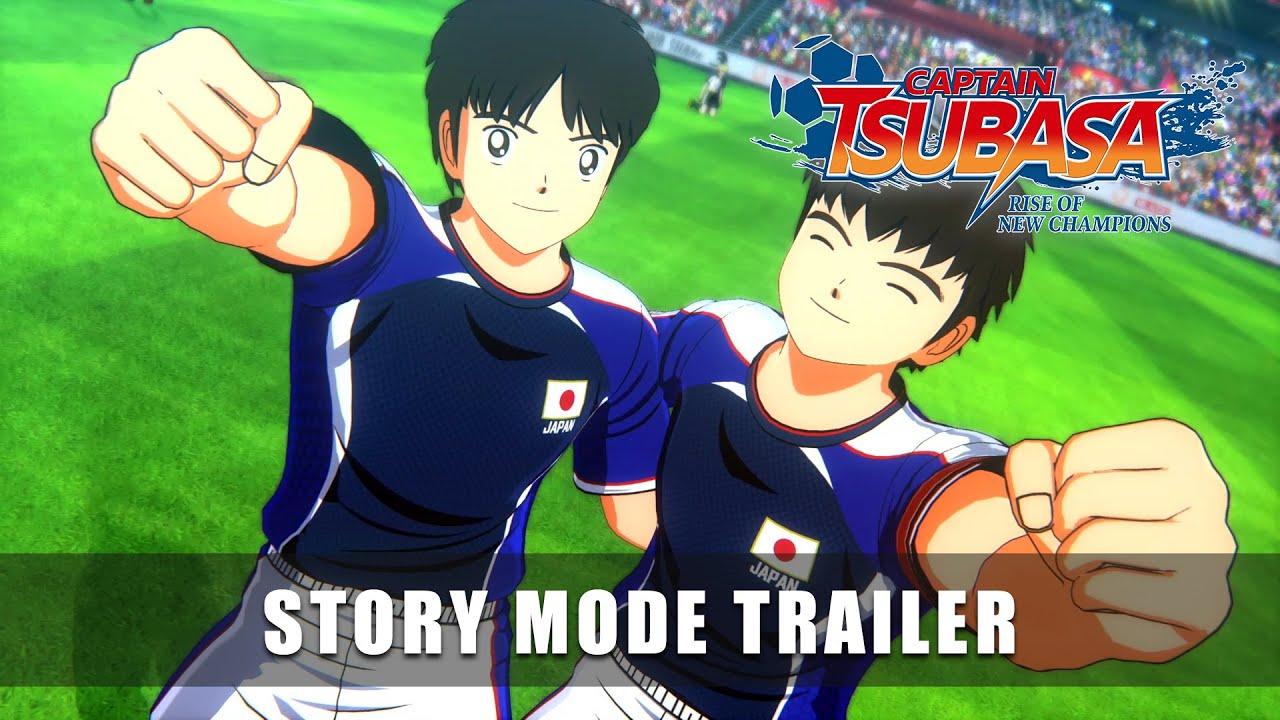 CAPTAIN TSUBASA: RISE OF NEW CHAMPIONS – Story Mode Trailer