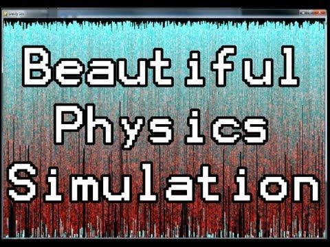 Python Physics Simulation: Beauitful Bouncing Balls