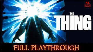 The Thing | Full Playthrough | Longplay Gameplay Walkthrough No Commentary HD