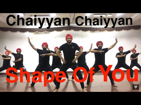 SHAPE OF YOU || CHAIYA CHAIYA || BHANGRA || FOLKING DESI || SGGSCC, DU ||