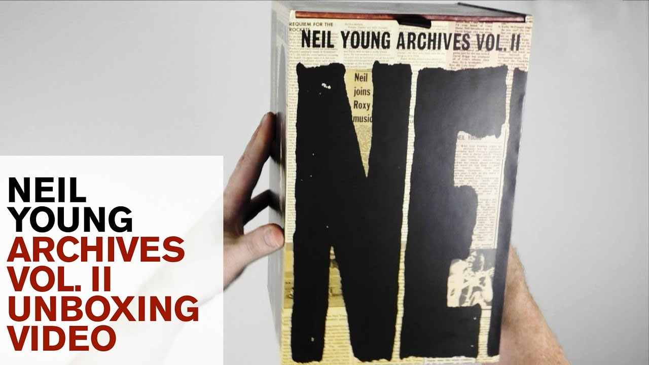 Download Neil Young / Archives Vol. 2 deluxe set unboxed, with comparison to first volume.