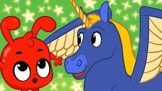 Mila bekommt Morphle's Superkräfte!   +Mehr Episoden   Karikatur   Kinderlieder   Mila und Morphle