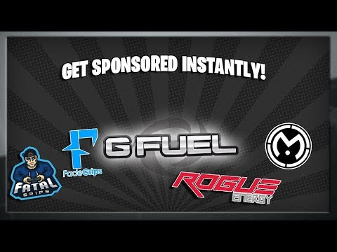 Best Sponsors For Small Fortnite Teams/Clans! *2019*