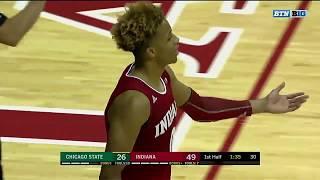 Romeo Langford Scores 19 Points in Hoosier Debut   Indiana   Big Ten Basketball