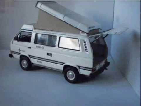1 24 scale vw t3 camper by revell youtube. Black Bedroom Furniture Sets. Home Design Ideas
