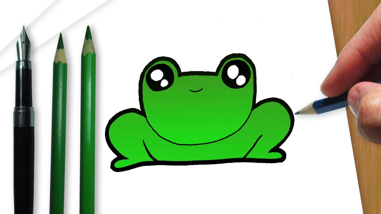 como desenhar um sapo kawaii youtube