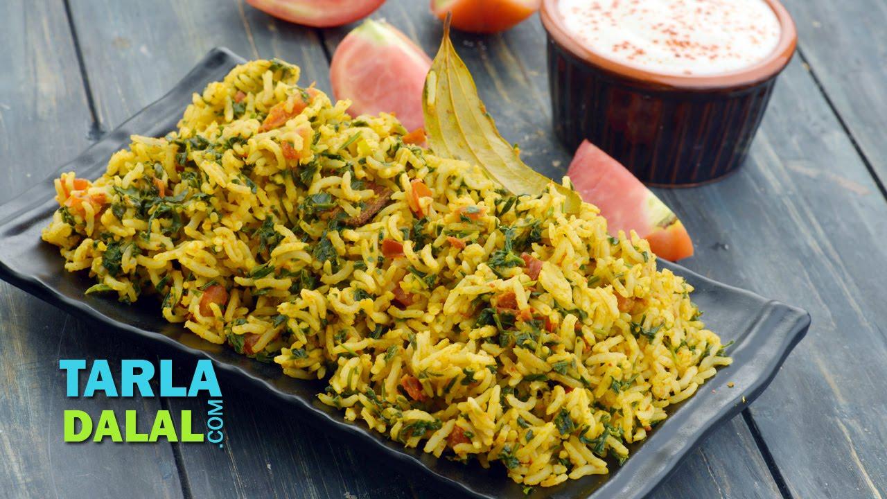 Tomato Methi Pulao Recipe - Easy Lunch Box Recipes ...