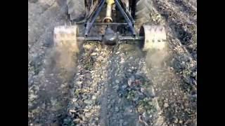 Glebogryzarka do Truskawek własna konstrukcja REWELACJA UrSuS C-330