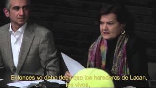 """Conferencia Elisabeth Roudinesco """"La Actualidad de Lacan"""", 4 de septiembre 2013."""