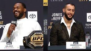UFC 247: Джонс vs Рейес - Пресс конференция