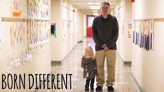 """The Tiny Teacher Who's Only 3ft 3""""   BORN DIFFERENT"""