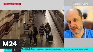 Глава совета Фонда развития цифровой экономики рассказал об оплате проезда лицом - Москва 24