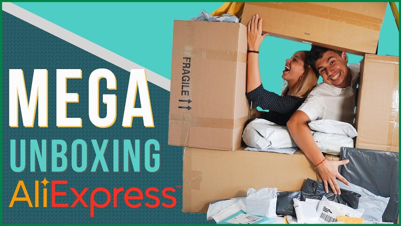 MEGA UNBOXING PRODUCTOS ALIEXPRESS #3
