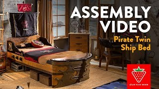 Pirate Twin Ship Bed (20.13.1317.00)