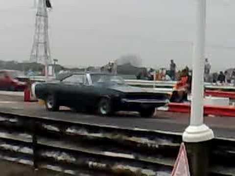 1968 Dodge Charger Drag Race Youtube