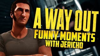 BREAKING OUT OF PRISON! - A Way Out w/ Jericho (Funny Moments)