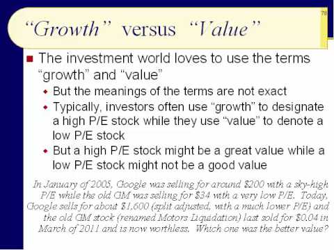 BUS123 Chapter 05 - Types of Stocks, Market Capitalization, and Stock Strategies - 76-94 - Sp17