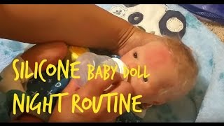 Baby Dutch's Night Routine! Vacation Edition!! Silicone Baby Boy