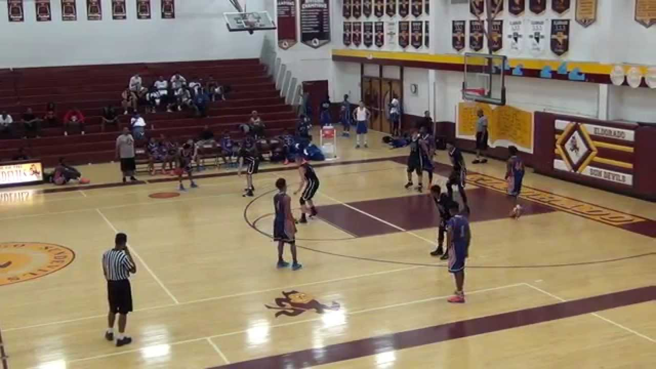 ALevel Eagles TX 16U vs UBC Elite, 2015 Las Vegas Classic, Bigfoot ...