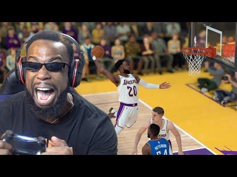 First Game Of The New Season w/ My New Team! Lakers vs Thunder NBA 2K19 MyCareer Ep. 68