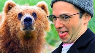 The Try Guys Feed Wild Animals In Alaska • The Try Vlog