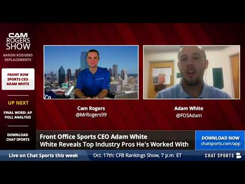 Front Office Sports CEO Adam White - YouTube