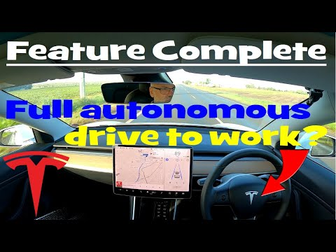 EP335 - Tesla's New Feature Complete. Car Drives You To Work?