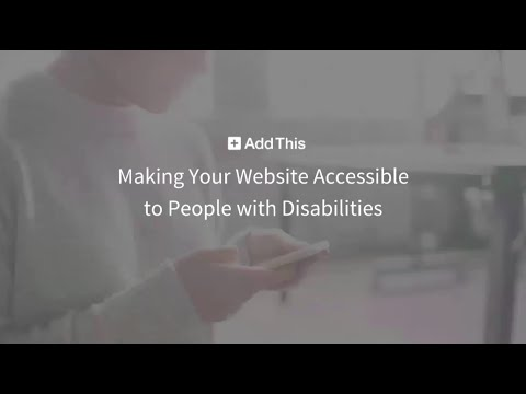 WEBINAR: Making Your Website Accessible to People with Disabilities
