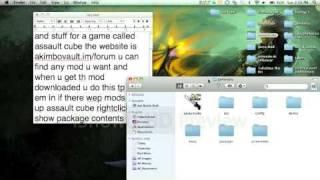 how to mod assault cube