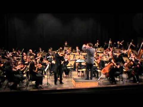Dvorak - Concerto para violino em Lá menor - Emanuel Salvador, OSES, maestro convidado Adam Klocek