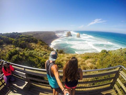 The Great Ocean Road - Road trip Australia 2016 GoPro 4