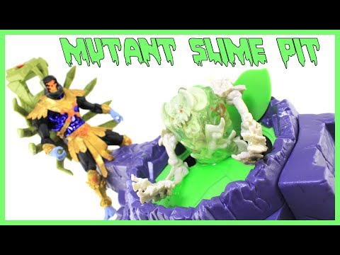Masters of the Universe Mutant Slime Pit 2004 Mattel Playset Video Review