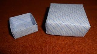 🌿MTVV🌿 || GẤP GIẤY - GẤP HỘP - HỘP QUÀ (ORIGAMI - PAPER BOX - GIFT BOX)- MỘC THẢO