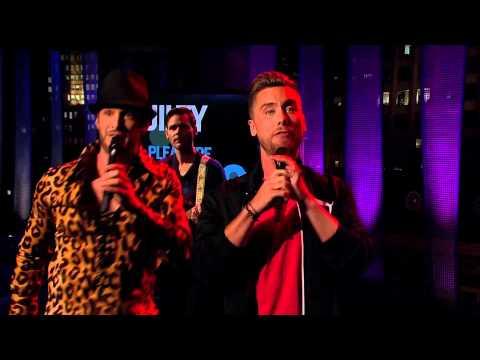 "CMT's Josh Wolf Show - ""Wannabe"" by Lance Bass and Josh"