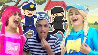 يويو ودودي حلقات الشرطي وعمو السراق - yoyo and dodi the police and thief episodes