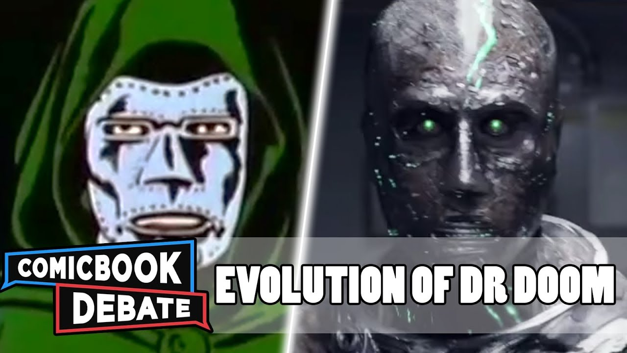 Evolution of Dr. Doom in Cartoons, Movies & TV in 15 Minutes (2018)