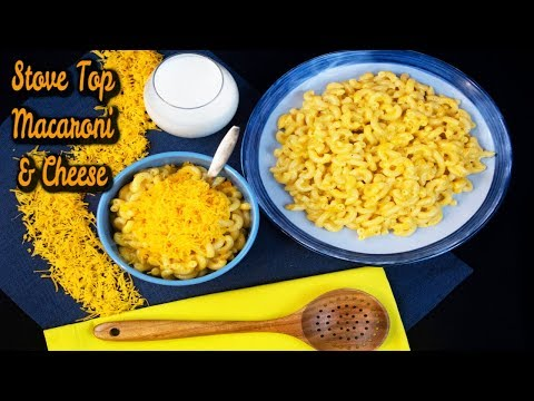 World's Best Stovetop Macaroni & Cheese Recipe: How To Make Homemade Cheese Sauce (Without Flour)
