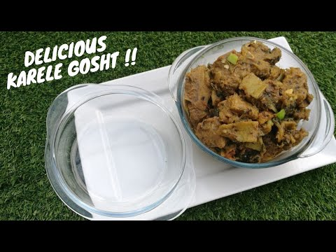 Karela Gosht Recipe | Lamb and Bitter Gourd Curry | How to Make Karela Gosht