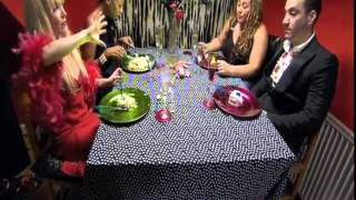 Come dine with me day 2 Tempered Sicilian Man and 3 Rude Girls