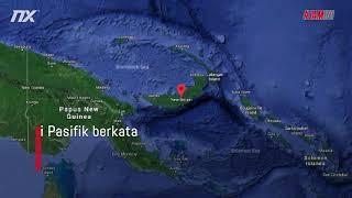 [JAM INI] Papua New Guinea Dilanda Gempa Bumi