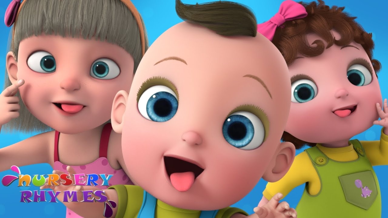 Babies Making Funny Faces | Funny Faces Song | Nursery Rhymes | Baby Songs
