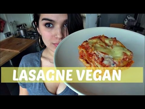 lasagne-vegan-/-végétalienne-simple
